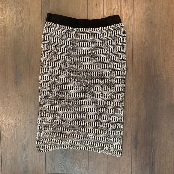 Sanctuary Dresses & Skirts - Sanctuary Womens Black & White Sweater Knit Skirt